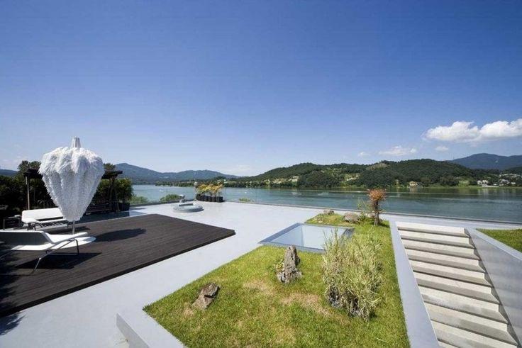 Rasenfläche auf dem Dach anlegen