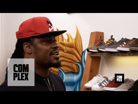 hotness and more Marshawn Lynch Goes Sneaker Purchasing With Intricate