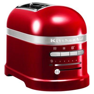 KitchenAid 5KMT2204BCA Artisan 2-Slice Toaster - Candy Apple #AtlanticElectrics #Kitchenaid #KitchenAppliances #Toaster