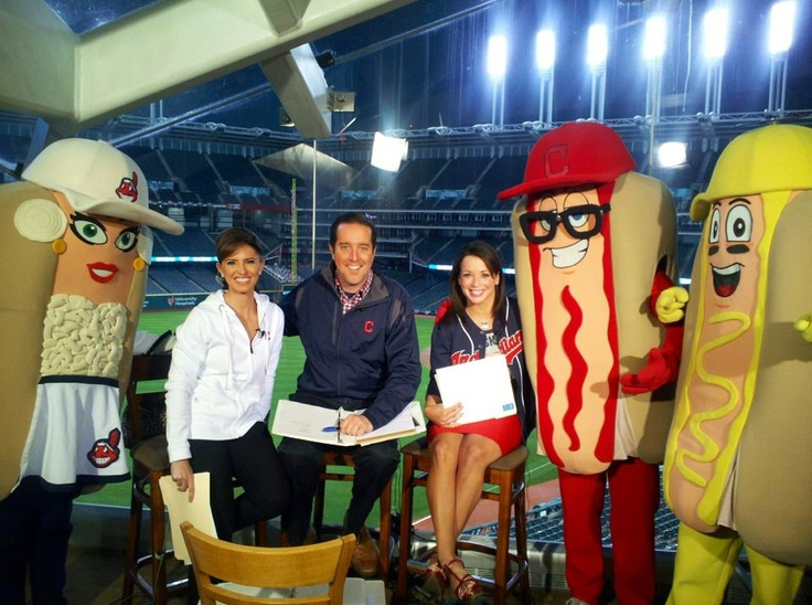 4/5/12 - Channel 3 News Today at Progressive Field for Opening Day!  GO TRIBE!!  Click the pic to watch LIVE streaming coverage of our Opening Day special at 1pm.