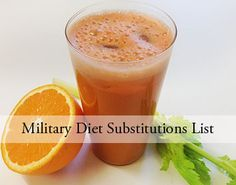 Have you ever heard of the Military Diet Substitutions? It is considered as one of the great ways to lose extra pounds in just a short period of time.
