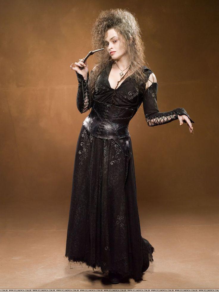 Psychopathe, hystérique, voluptueuse, mal peignée : ce ne sont là que quelques unes des caractéristiques du personnage de Bellatrix Lestrang...