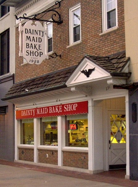 Best bakery in South Bend, IN....Dainty Maid Bake Shop.  In business since 1928...definitely the best place to buy baked goods