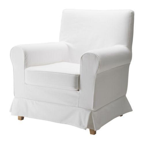 EKTORP JENNYLUND Fauteuil IKEA De overtrek is afneembaar en machinewasbaar en dus eenvoudig schoon te houden.