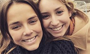 Pauline Ducruet reunited with Prince Albert's daughter Jazmin Grace Grimaldi in New York