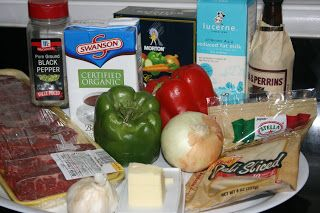A Year of Slow Cooking: CrockPot Philly Cheesesteak Soup Recipe