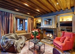 We have just update images for luxury ski chalet St Christophe in Courchevel 1850