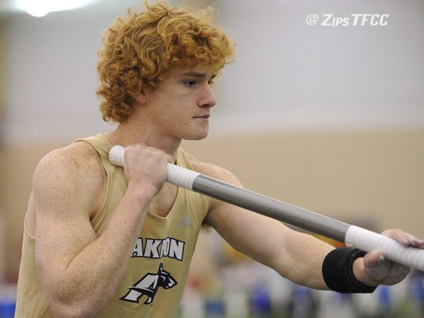 Barber wins pole vault competition at Armory Track Invitational