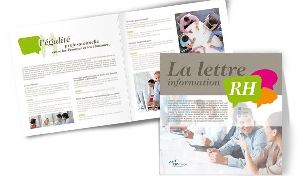 Conception graphique - Print design Brochure  RH #design #brochure