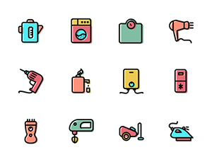 2000 free graphivs icons http://graphicburger.com/puppets-100-stroke-icons/