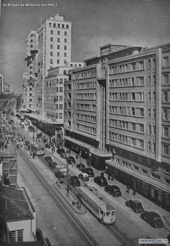 Avenida Borges de Medeiros déc 1930