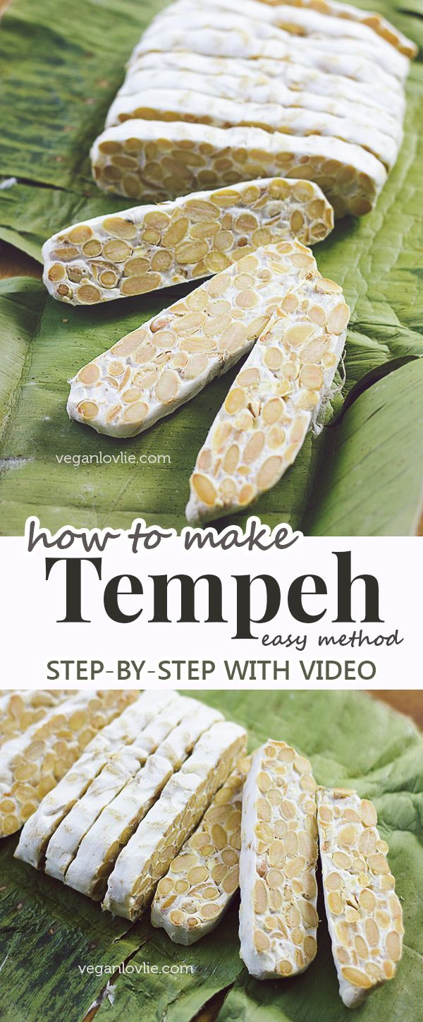 An easy method of how to make tempeh at home. Watch the video tutorial…