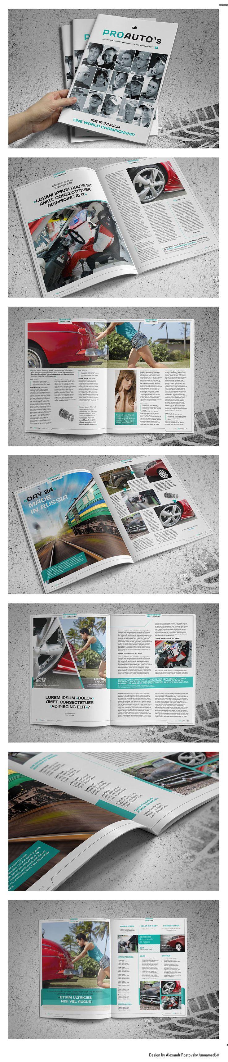 Автомобильный журнал. Дизайн продаётся. (Полиграфическая верстка) - фри-лансер ALEX KOIN [unnamed61].