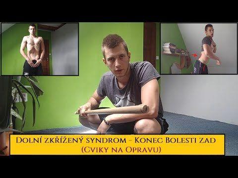 Uvolnění svalů v bedrech vleže na břiše - YouTube