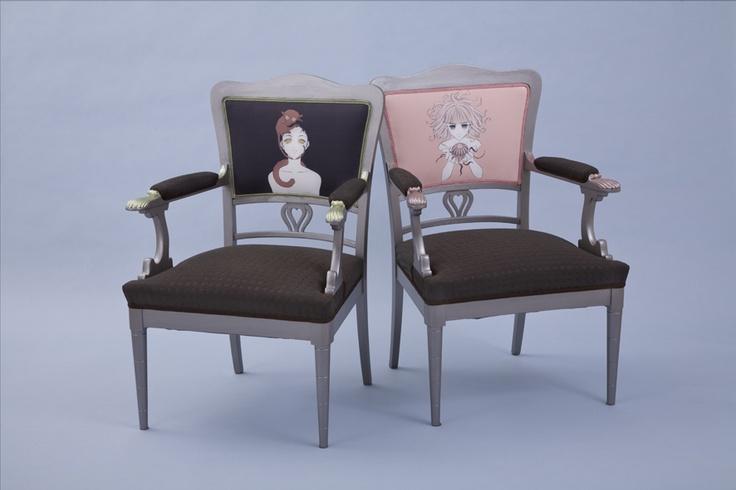 the Drawing Room Chair featuring Åsa Ekström, no 1/10. Photo: Johanna Hopkins