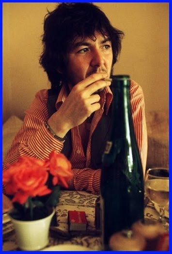 Ronnie Lane (1 April 1946, Plaistow, London, England - 4 June 1997, Trinidad, CO, USA) was an English bassist, musician, songwriter and producer. He is best known as a member of two prominent English rock bands: The Small Faces (1965–69) and Faces. Ronnie Lane collaborated with other musicians, leading his own bands and pursued a solo career. He released 4 solo albums: Anymore For Anymore (1974), Ronnie Lane's Slim Chance (1974), One For The Road (1976) and See Me (1979).