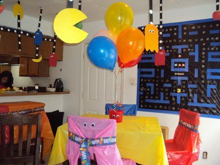 Retro Video Game Party #videogame #party