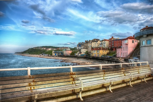 A beautiful evening in Cromer, North Norfolk, UK