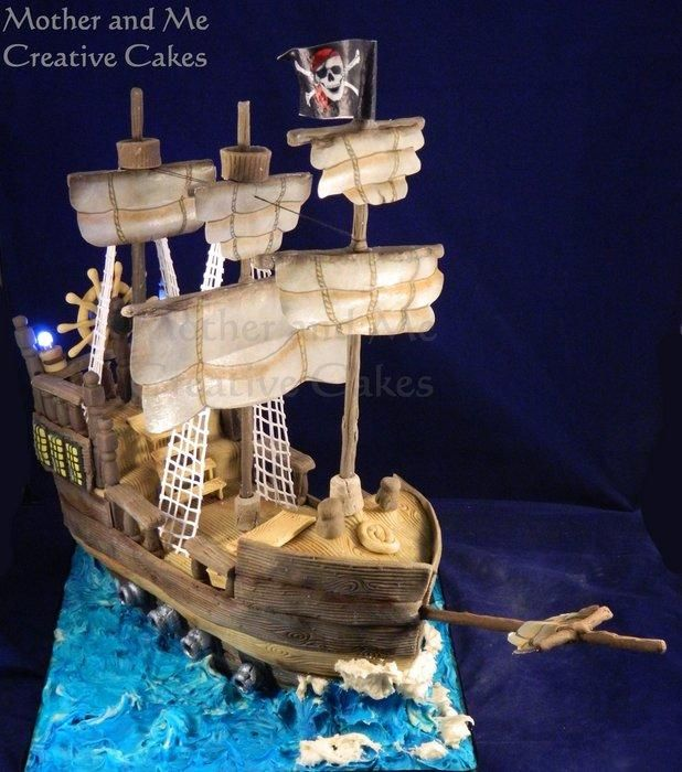 Ahoy Mateys!!!! - Cake by Mother and Me Creative Cakes