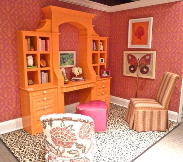 Playroom Workroom Bedroom 1965: 1000+ Images About Pink Office Spaces On Pinterest