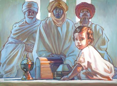 LDS Artist Shares Artistic Vision at Washington, D.C., Exhibit - Church News and Events