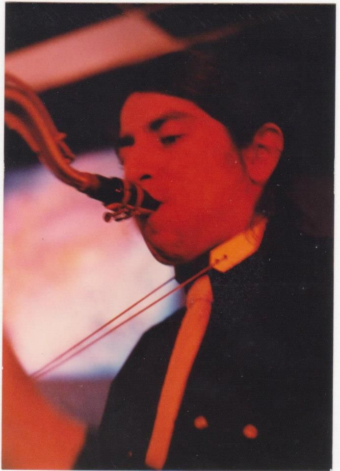 My cousin Richard Carrillo Ordonez. He was a great musician, loved playing the saxophone & a singer too from a band called Freddy's Band from Sacramento CA during late 1970s