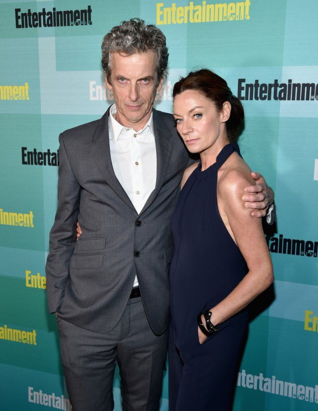 """Peter Capaldi and Michelle Gomez. """"I want to kiss it to death"""" :) ♥♥"""