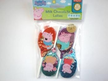 Peppa Pig Chocolate Lollipops