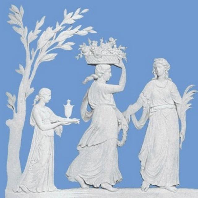 Josiah Wedgwood (Signature blue jasper ware)