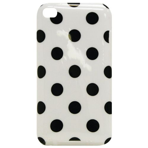 Exian iPod Touch 4G Soft Shell Case (4T019) - Polka Dots : iPod Cases, Armbands, Skins & Sleeves - Best Buy Canada