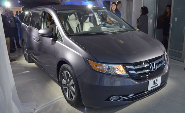 So genius!  The new Honda Odyssey has a BUILT-IN VACUUM!  Innovation with families in mind.