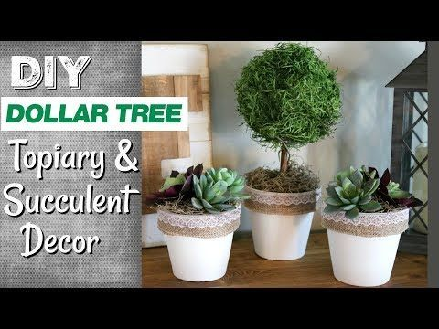 DIY Farmhouse Dollar Tree Decor