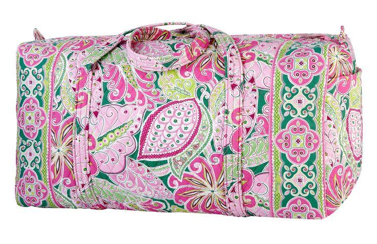Vera Bradley Duffel Bag  #Bae