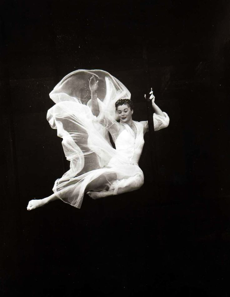 Experiments in motion. Esther Williams 1950's