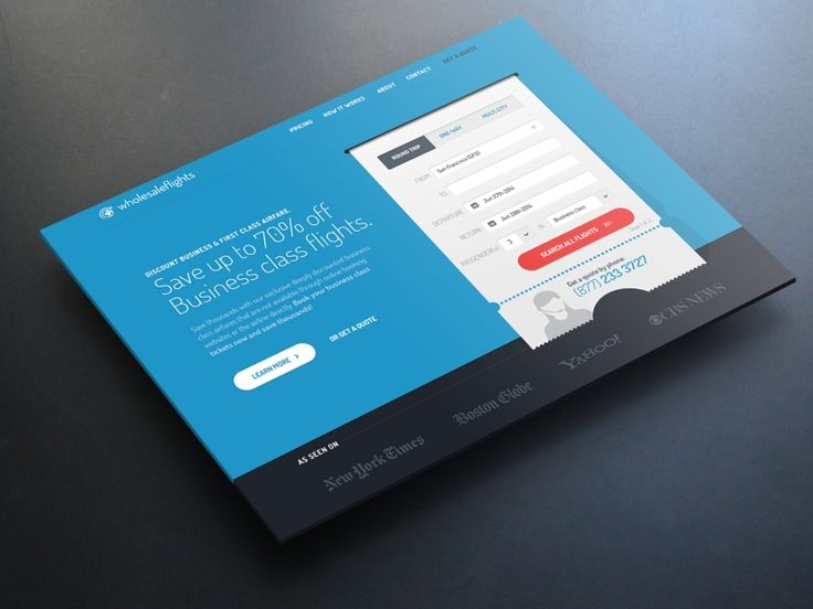 Landing Page by Igor Reif