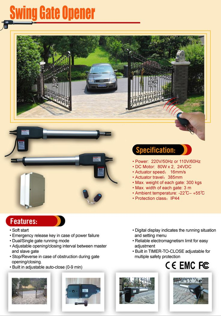 Images about swing gate opener on pinterest solar