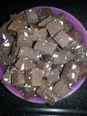 Chocolat mint fudge - Slowcookers NL