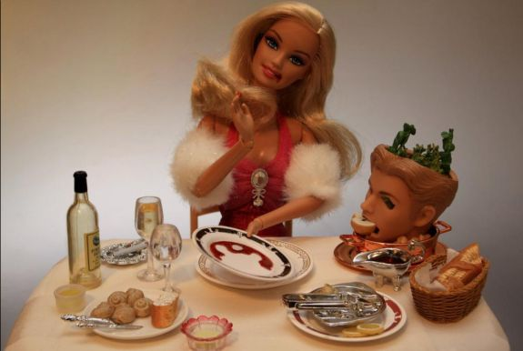 """Crazy Pills"" Barbie #American #Psycho #Barbie"