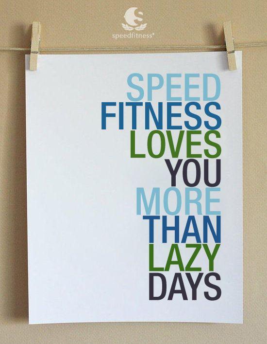 #Speedfitness motivations