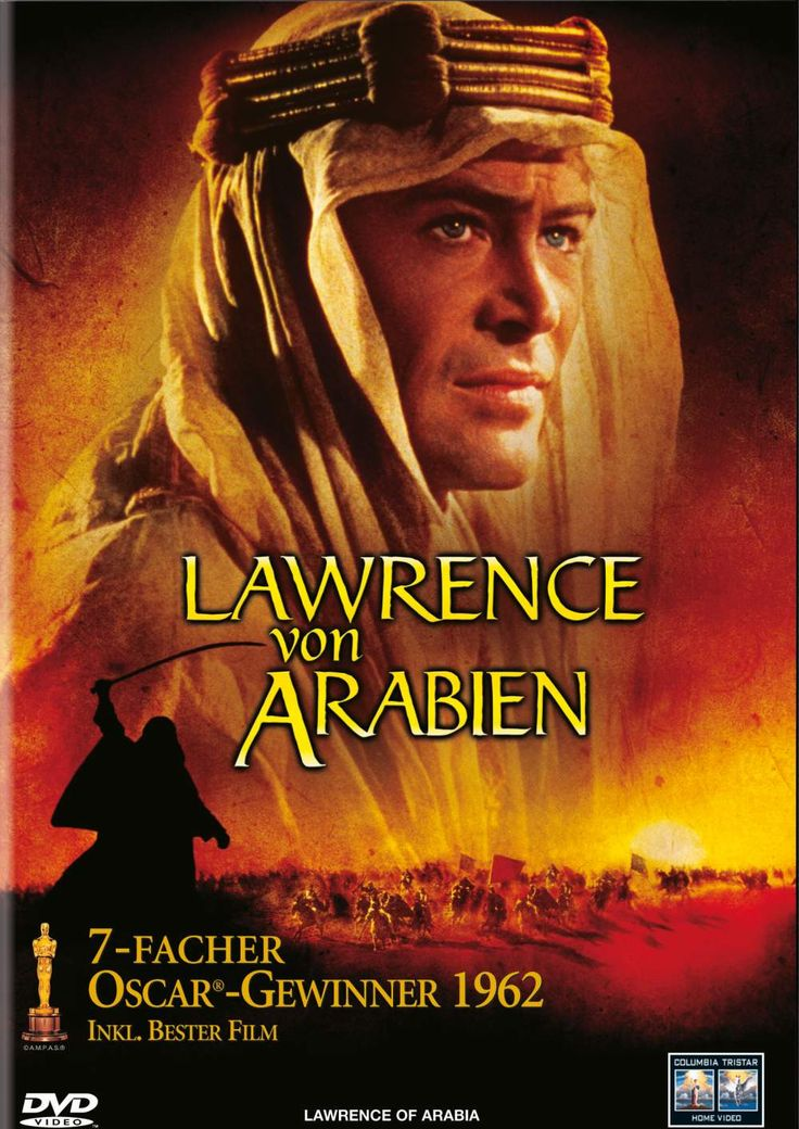 1963 - LAWRENCE OF ARABIA - David Lean - Best Picture