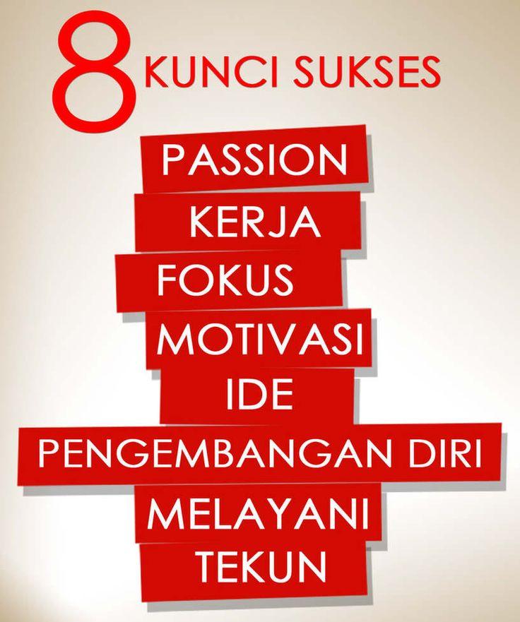8 kunci sukses
