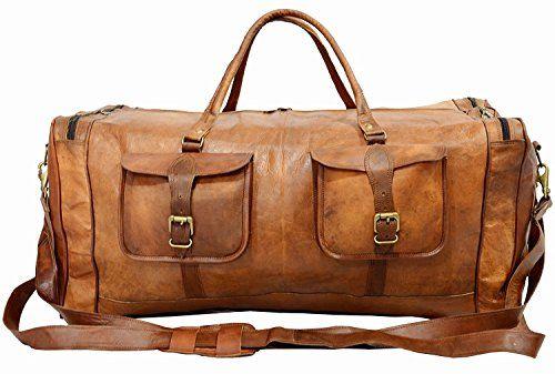 Resultado de imagen para handmade leather travel bag
