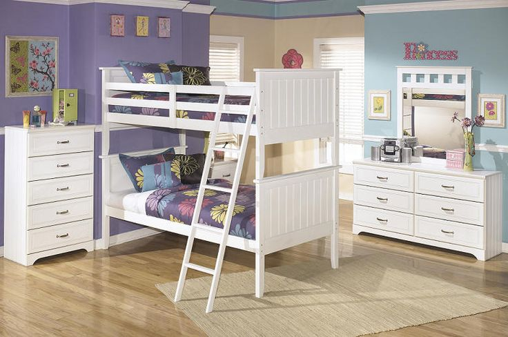 Milan Twin Over Twin Bunk Bed White White Bunk Beds