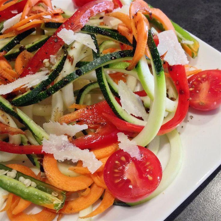 Salade de courgettes @ http://qc.allrecipes.ca