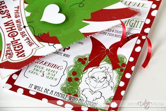 FREE printable invite for a Grinch-themed Movie night!!!
