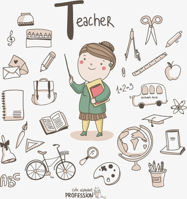 Teacher S Cartoon Female Teacher Graffiti Simple Strokes Vector Cartoon Female Teacher Graffiti Png Transparent Clipart Image And Psd File For Free Downlo Cute Alphabet Teacher Cartoon Teachers Day