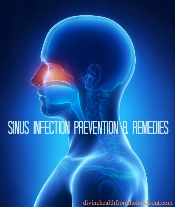 sinus infection prevention and remedies | Divine Health