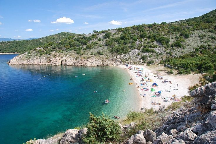 Beach Potovosce, Vrbnik, Krk, Croatia