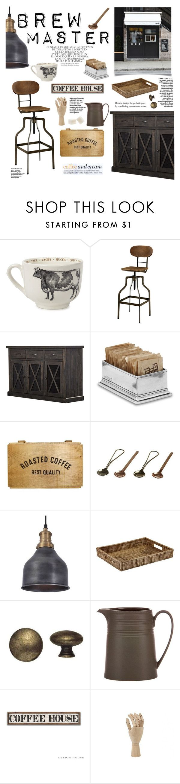 Brew Master By Barngirl On Polyvore Featuring Interior Interiors Design Home