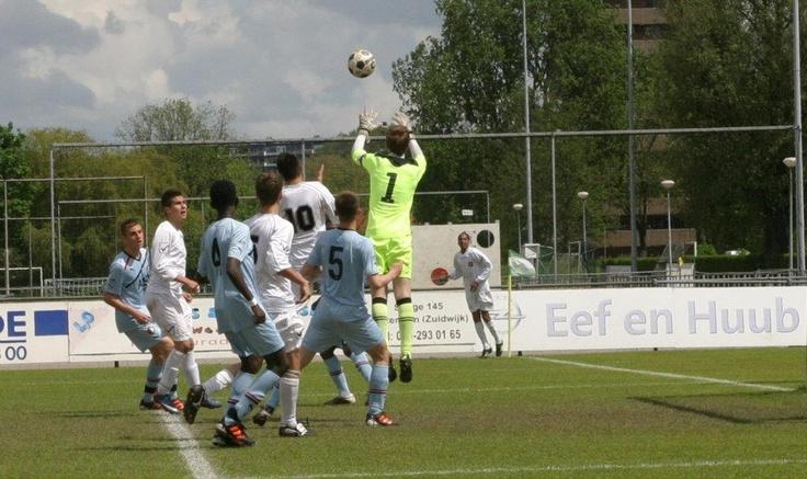 Feyenoord Academy  Goalkeeper Bob van der Hoek